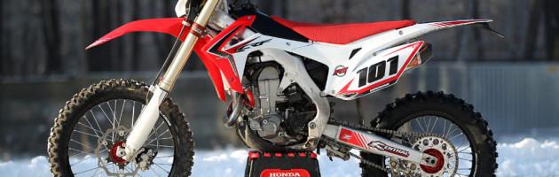 Honda CRF 450 R 2013 de Enduro de David Knight | Fotos Moto Trilha
